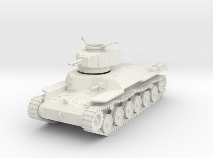 PV51B Type 97 Chi Ha (Open Hatch) (28mm) 3d printed