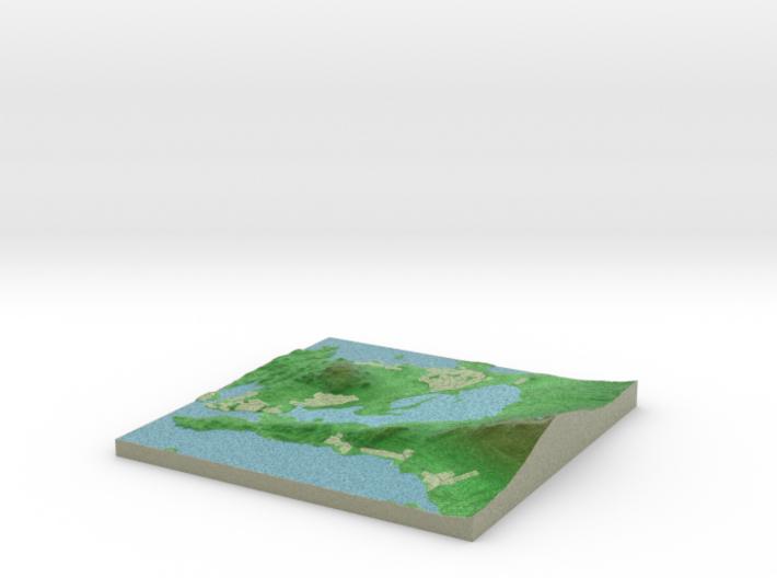 Terrafab generated model Tue Dec 16 2014 15:03:29 3d printed