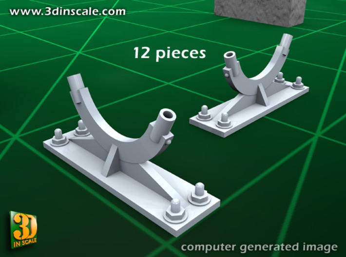 Pipeline accessory system Set 3 3d printed Add a caption...