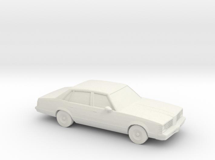 1/87 1979 Pontiac LeMans 3d printed