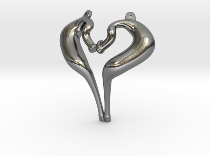 I Love 2-strokes Pendant Motorcycle Pipes 3d printed