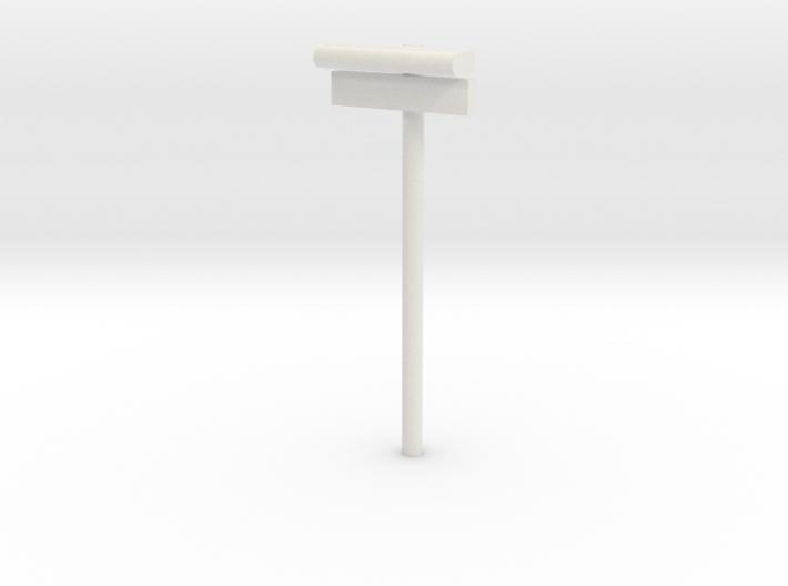 1/160 - DSB Stations lampe med stations skilt (VIA 3d printed