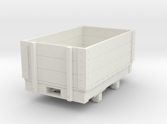 Gn15 small 5ft open wagon 3d printed