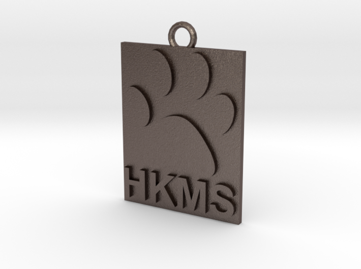 HKMS Keychain/Ornament 3d printed