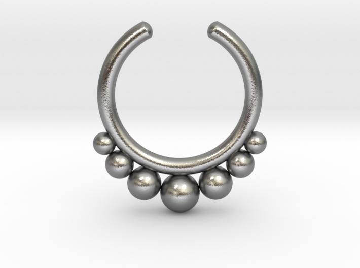 Septum Ring 1.5mm 3d printed