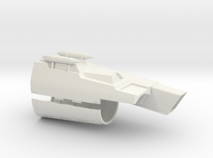 Gauntlet LH Assembly 3d printed