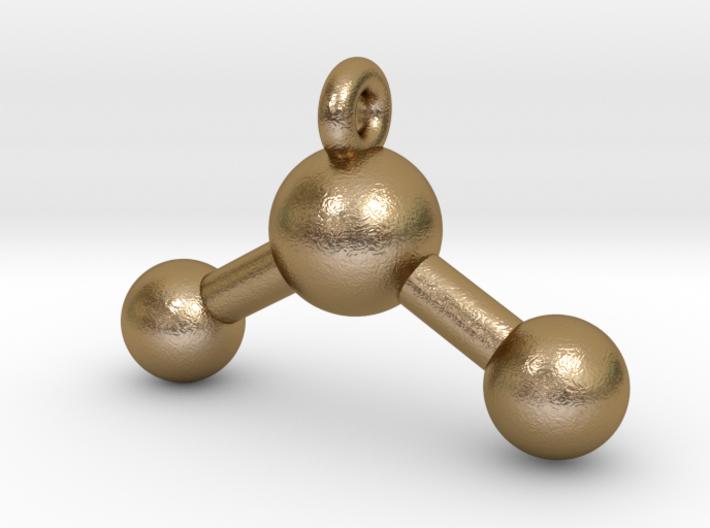 3D Printed Water Pendant Earring 3d printed