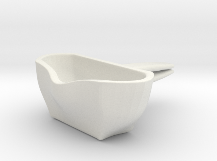 Voituré 'M' - Car Interior Flower Pot 3d printed