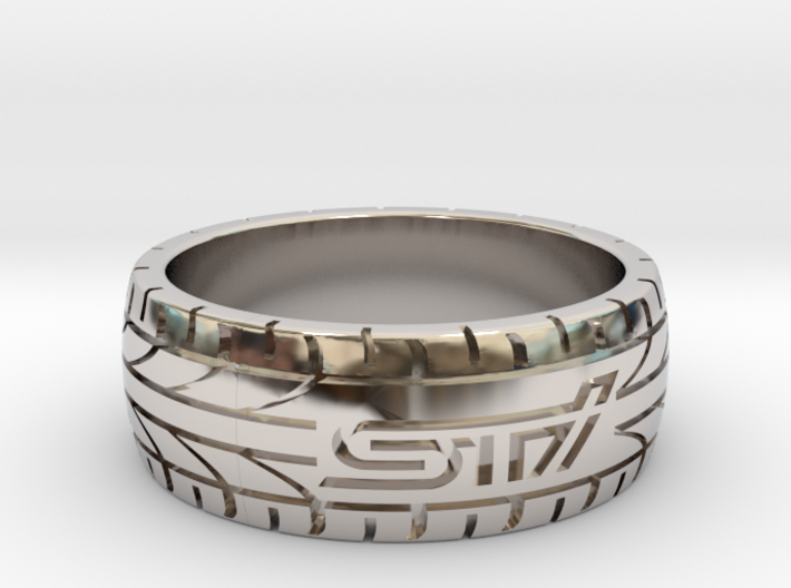 Subaru STI ring - 19 mm (US size 9) 3d printed