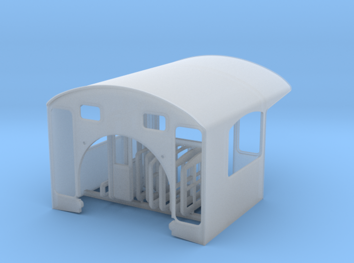 Southern Ry Cab for Mantua 4-6-0 - HO scale 3d printed