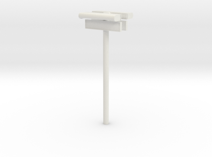 1/32 - DSB Stations lampe (dobbelt) med stations s 3d printed