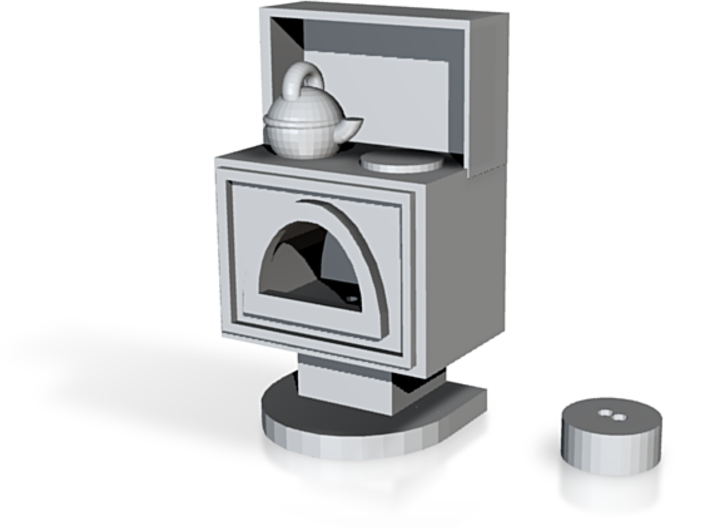 LITTLE STOVE 3d printed
