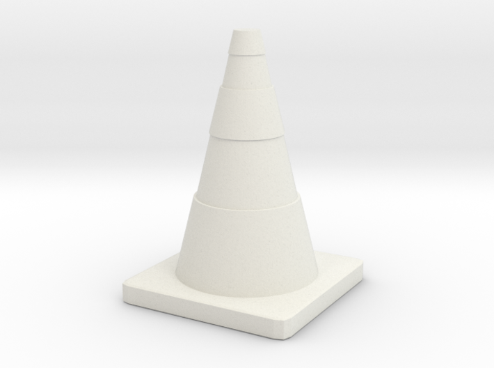 Construction Cone Custom Board Game Piece 3d printed