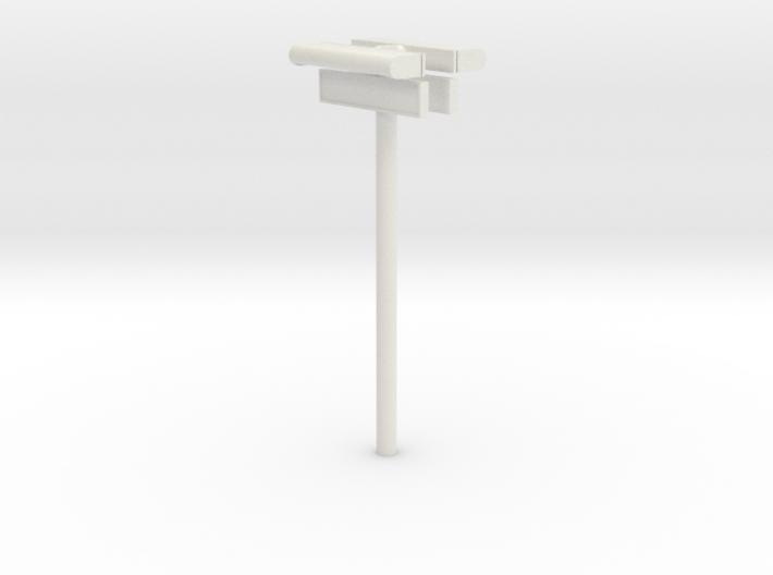 1/22,5 - DSB Stations (dobbelt) lampe med stations 3d printed