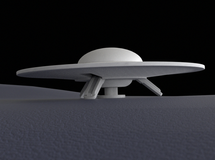 Flying saucer, 60 mm 3d printed