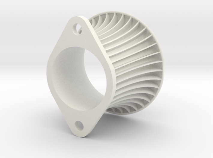 Intake Trumpet AE101 60 mm both sides trimmed 3d printed