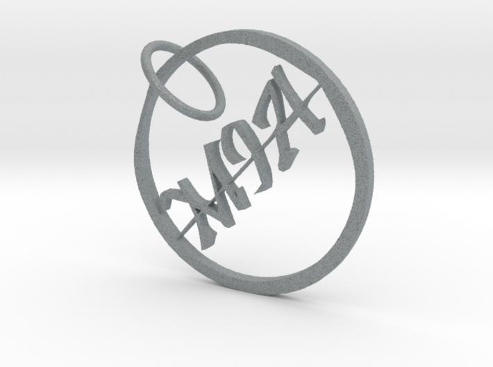 Mia Name Pendant 3d printed