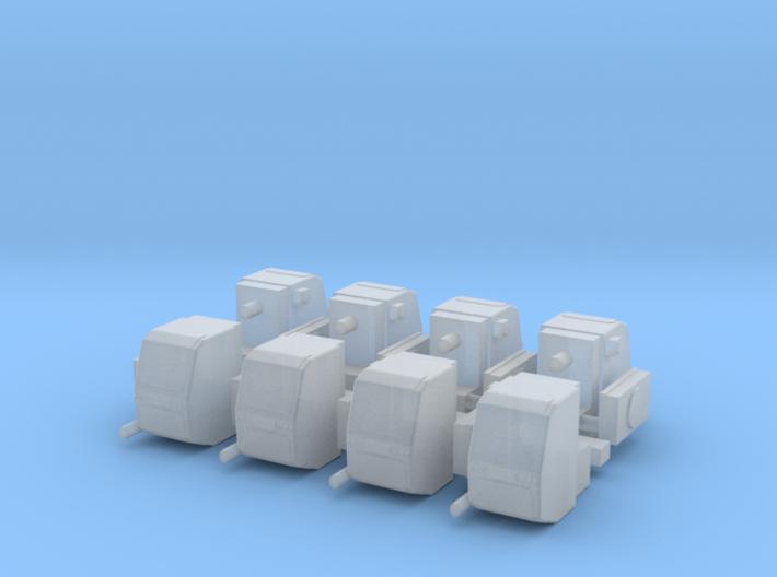 1/64 Scale Truck Pony Pack Generators x8 3d printed