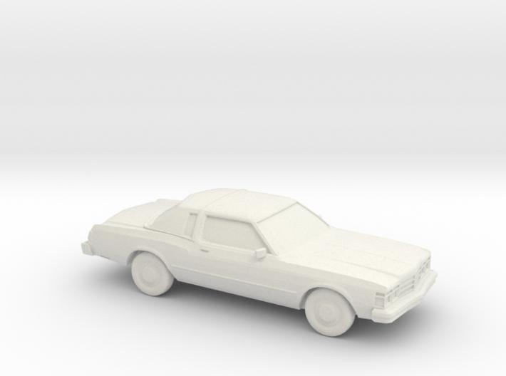 1/87 1977-79 Chrysler Le Baron 3d printed