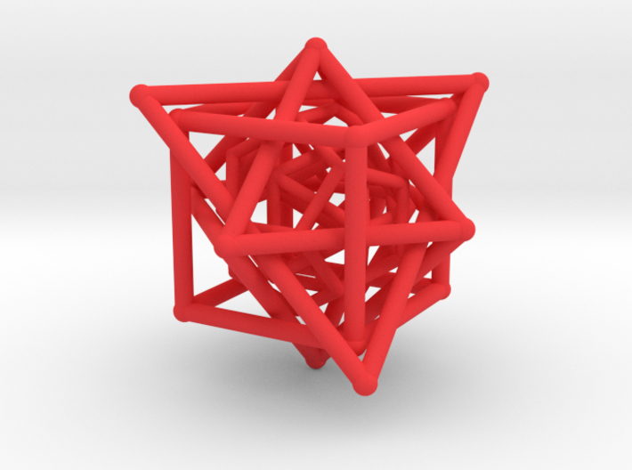 Platonic Tangle #1 3d printed