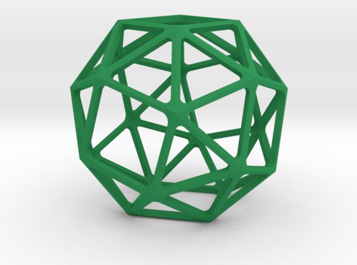 Snub Cube 3d printed