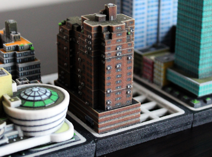 New York Set 3 building A 5 x 2 3d printed
