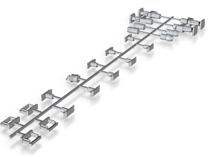 CSD/CD/ZSSK/ZSR 820 Detail Parts 3d printed