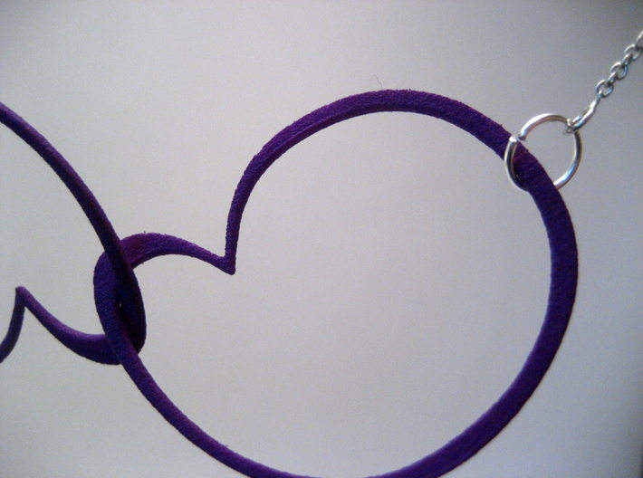 Hidden Heart Loops 3d printed
