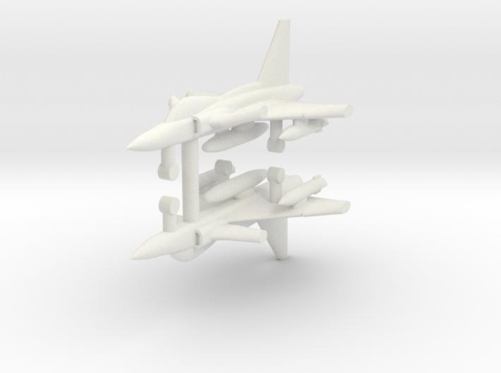 1/285 SAAB JAS 39 Gripen (x2) 3d printed