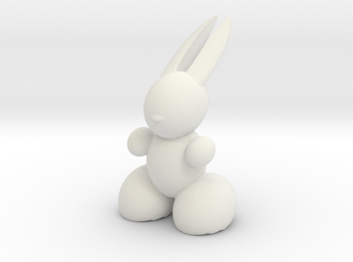 Rabbit Robot 3d printed