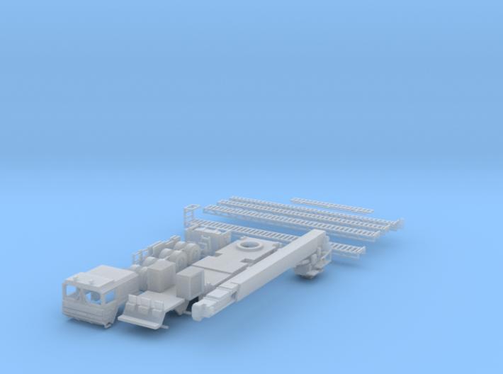 Teleskopmastfahrzeug (TMF) Flughafen Feuerwehr Stu 3d printed