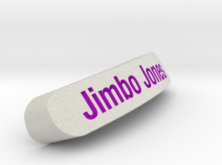 Jimbo Jones Nameplate for SteelSeries Rival 3d printed