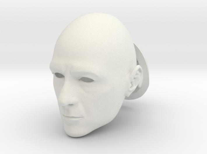 Anthony Stark BJD head SD size 3d printed