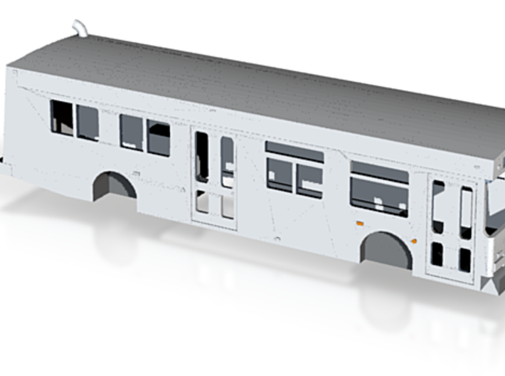 ho scale new flyer d35lf bus 3d printed