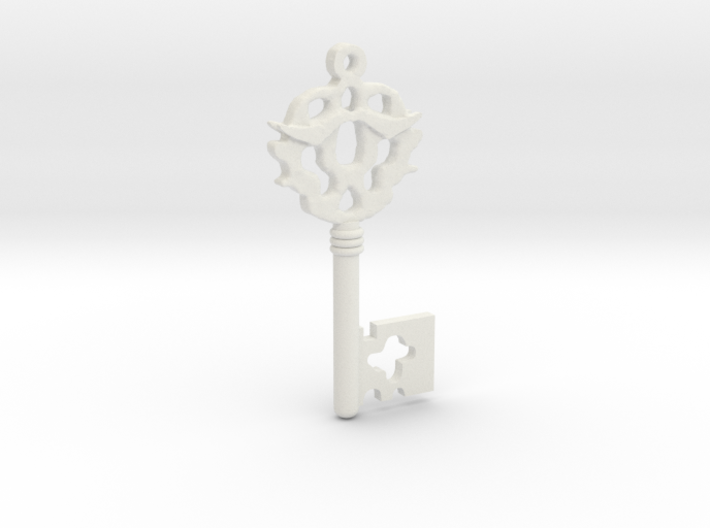 Franklin's Key to Purgatory from Sleepy Hollow 3d printed
