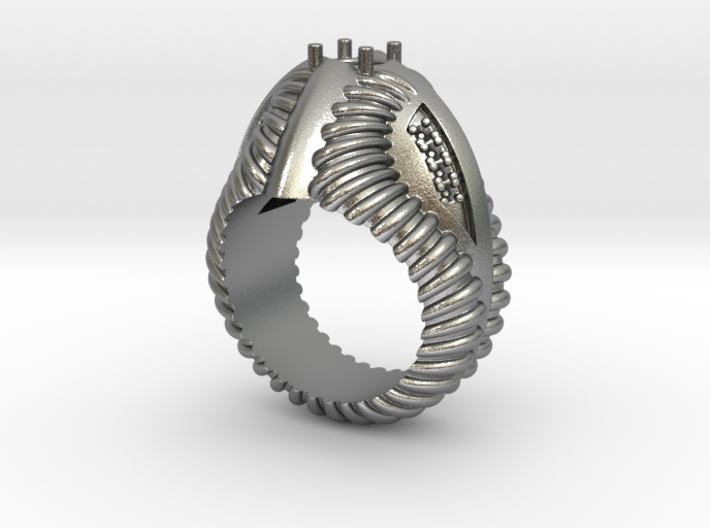 Predator Ring - Size 12 (21.49 mm) 3d printed