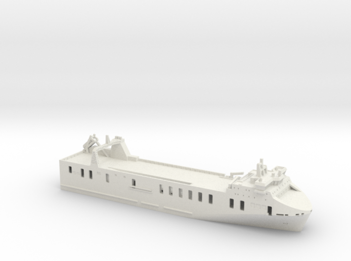 MV Seatruck Progress (1:1200) 3d printed