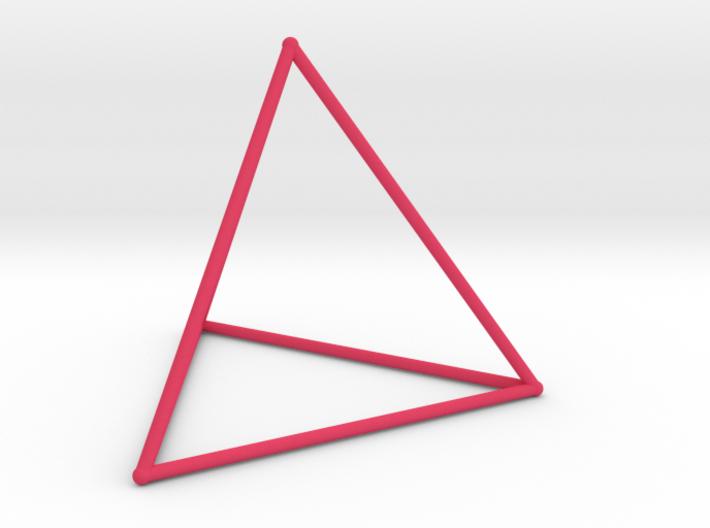 Tetrahedron (100 cc) 3d printed