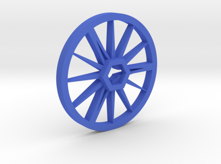 Needle-Fly 8n :: Robot Wheel for 8mm nuts 3d printed
