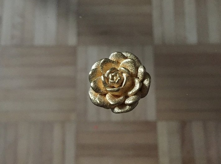 Medium Size Rose  3d printed