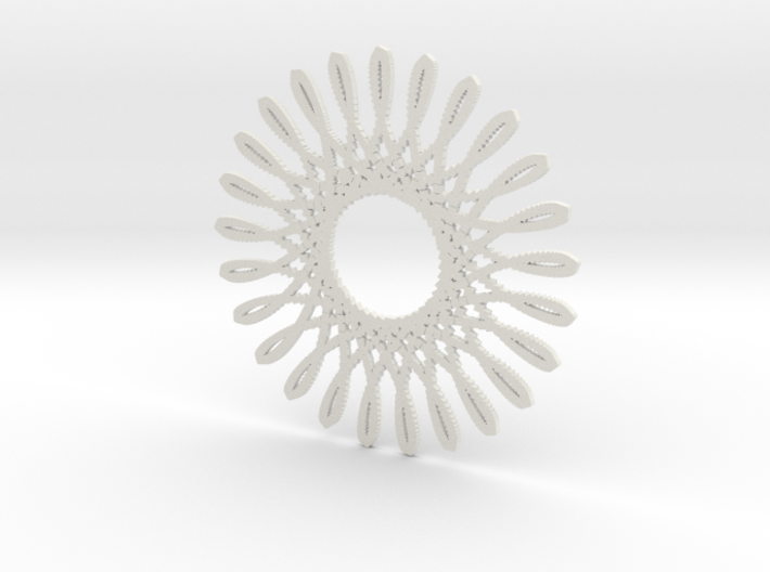 Spirograph03 3d printed