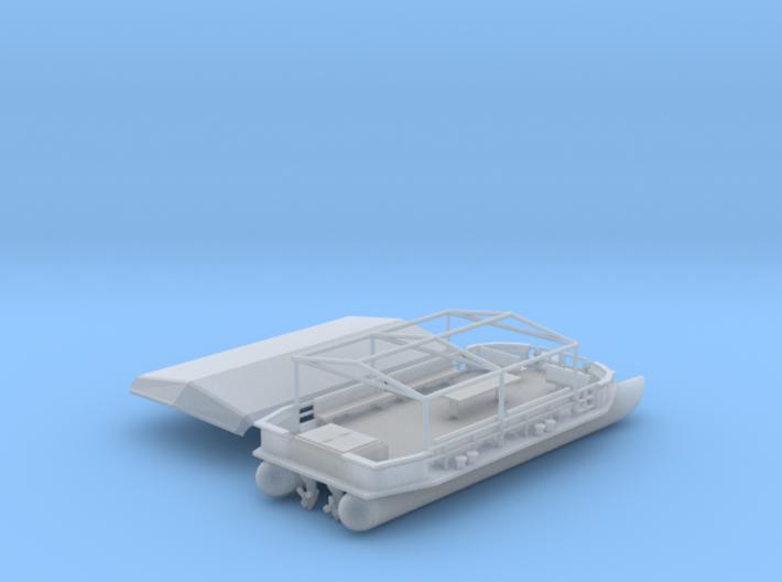 46 Ft Pleasure Boat Z Scale 3d printed 46 foot Pleasure Boat Z scale