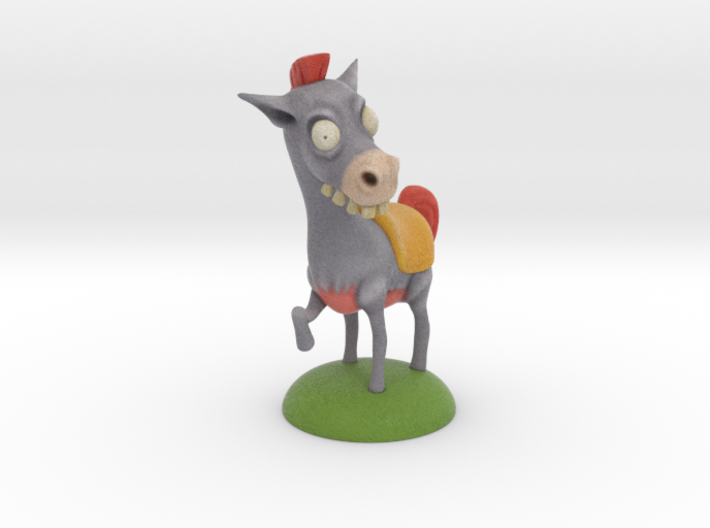 Look At My Horse 4in 3d printed