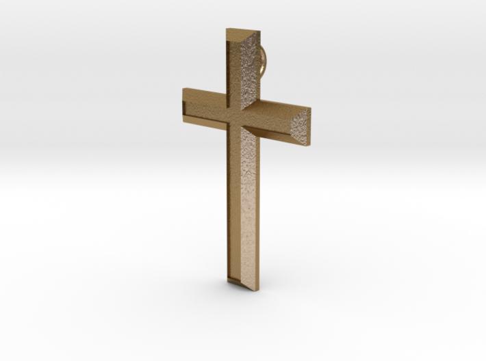 Smykke - Latinsk/Kristent kors 3d printed