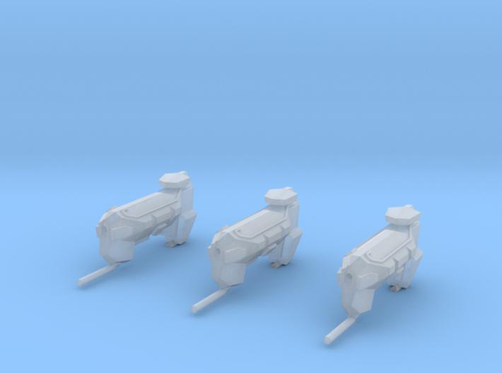 "Kushan ""Firelance"" Ion Cannon Frigates (3) 3d printed"