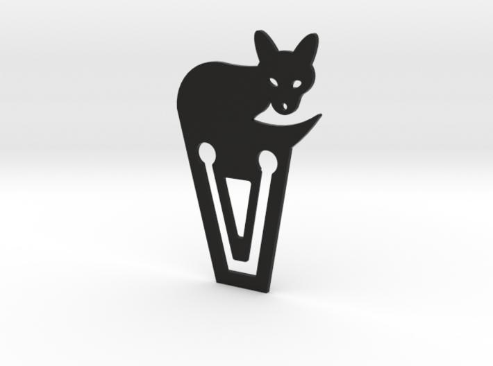 White Fox Bookmark 3d printed