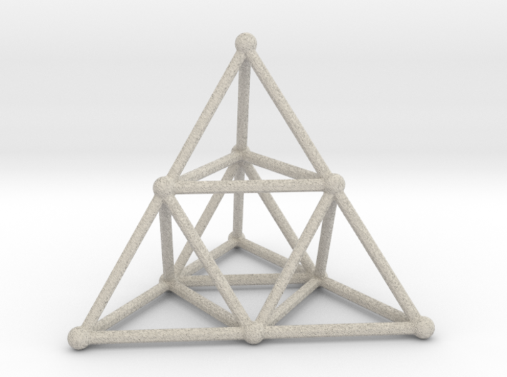 TETRAHEDRON (stage 2) 3d printed