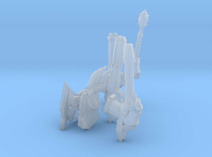 Thallax Weapons 3d printed