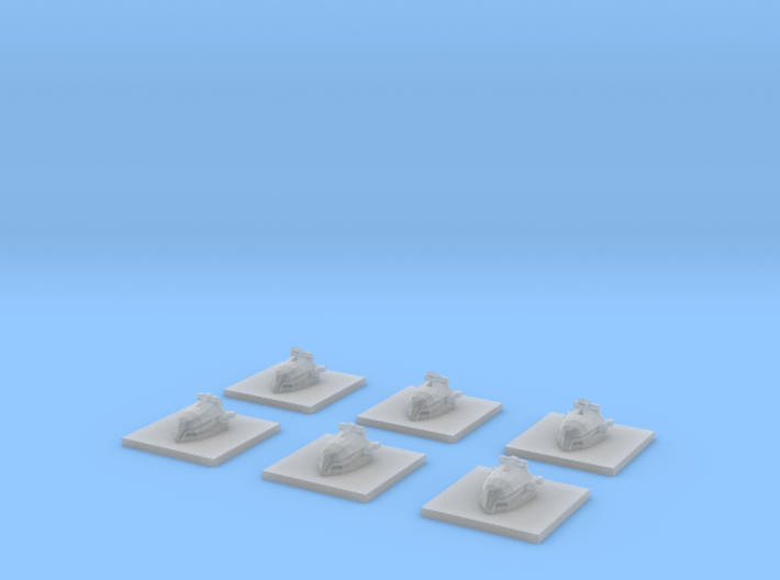 "Somtaaw ""Worker"" Resource Collectors (6) 3d printed"