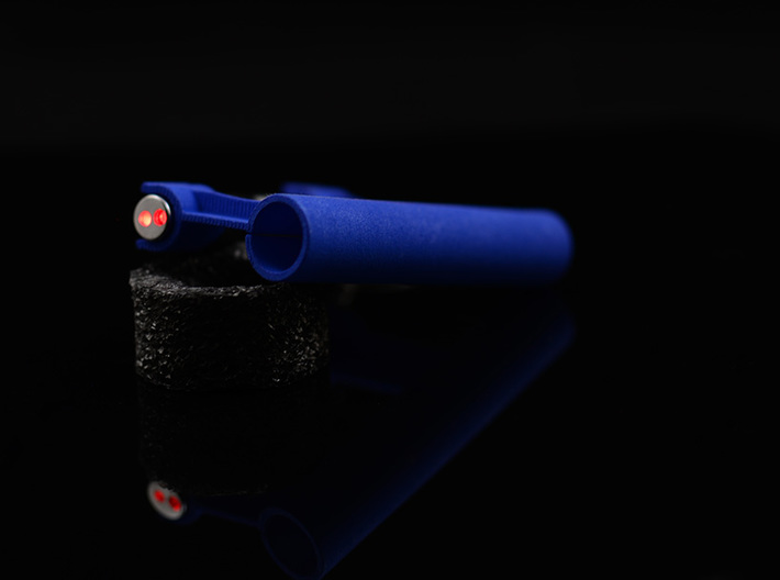 LASER SHOT PRO - LASER GUIDED POOL CUE 3d printed
